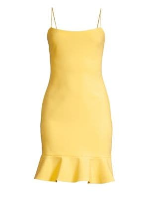 Likely Banks Flounce Sheath Dress