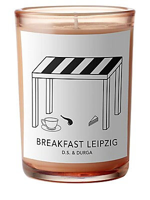 Image of A scented candle inspired by early morning breakfast with Bach at Café Zimmerman in 1723. Made in USA SPECIFICATIONS Burn time: 60 hours 6.9 oz. Fragrances - Emerging Brands. D.S. & Durga.
