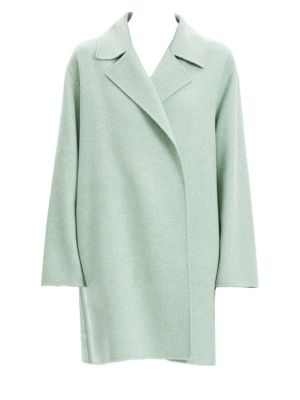 Double Faced Virgin Wool Cashmere Coat by Theory