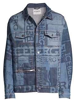 7e1fb50efdf0 QUICK VIEW. Iceberg. Logo Denim Jacket