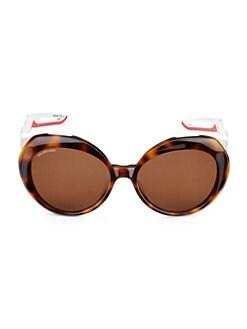 200803407a459 Balenciaga - 56MM Cat Eye Sunglasses
