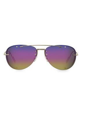 Dior Homme Sunglasses Chroma1 59MM Aviator Sunglasses