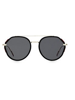 0db28880a2217 QUICK VIEW. Dior Homme. 53MM Oval Modified Sunglasses