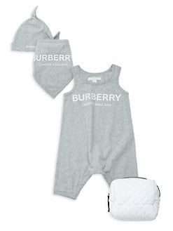 c7e42cd6cffb QUICK VIEW. Burberry. Baby s 3-Piece Logo Romper Set