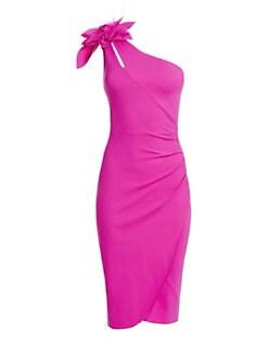 072ca0f9464cf QUICK VIEW. Chiara Boni La Petite Robe. Gosia Mesh Flower Ruched Sheath  Dress