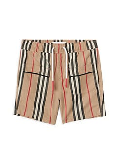 cd856f6675a7a Burberry. Baby s   Little Boy s Conroy Icon Pajama Shorts