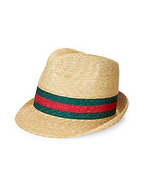 e15ffda7b20 Gucci - Trilby Web Straw Hat