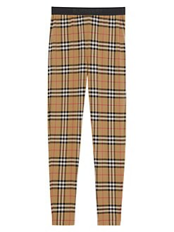 b7ccae2c6ca6da QUICK VIEW. Burberry. Belvoir Check Print Leggings