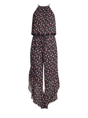Joie Jael Blouson Floral Jumpsuit