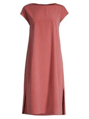 Eileen Fisher Dresses Sandwashed T-Shirt Dress
