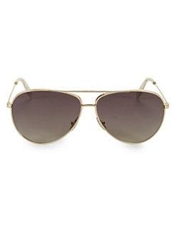 dc096be86fe18 CELINE. CL40062U 61MM Aviator Sunglasses