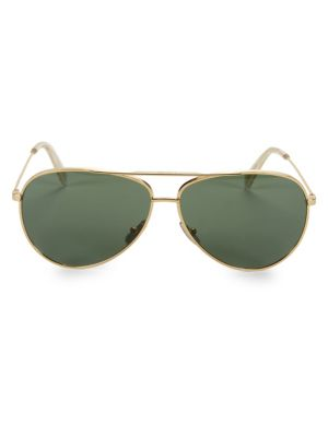 Celine Cl40062u Metal 61mm Aviator Sunglasses