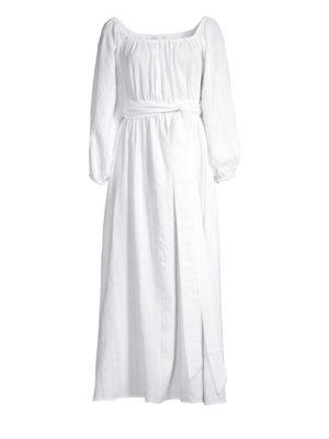 Mara Hoffman Malika Organic Cotton Peasant Dress