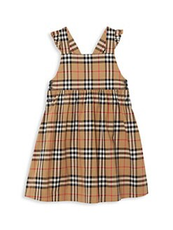 8eeb95b09854d QUICK VIEW. Burberry. Little Girl s   Girl s Livia Check Pinafore Dress