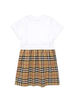 470381636 Product image. QUICK VIEW. Burberry. Little Girl's & Girl's Ruby Tartan ...