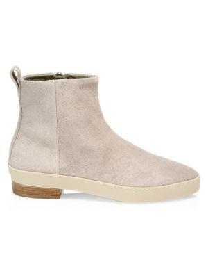 a581f081579 Balenciaga - Santiago Leather Western Ankle Boots - saks.com