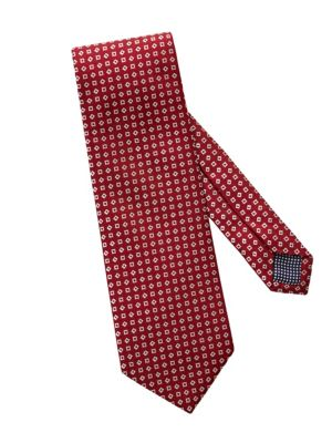 Eton Neat Square Silk Tie