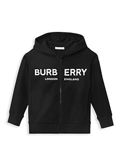 22e795dccee1 Burberry - Little Boy s   Boy s Henry Zipper Logo Hoodie