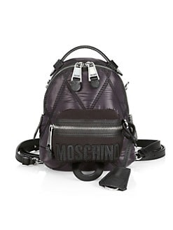 b64bccdb406f22 QUICK VIEW. Moschino. Quilted Backpack