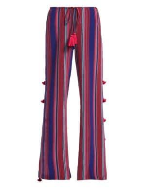 Figue Ipanema Stripe Silk Pants