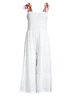78e916cb9f31 Bailadora Jumpsuit WHITE. QUICK VIEW. Product image