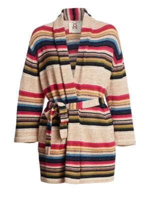 Figue Camille Stripe Cardigan