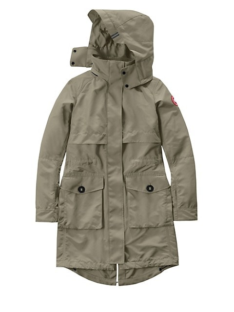 Cavalry Hooded Trench Coat