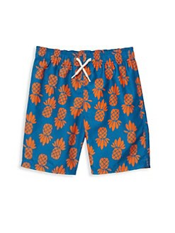 1c77ebcc2 Appaman. Baby Boy's, Little Boy's & Boy's Printed Swim Trunks