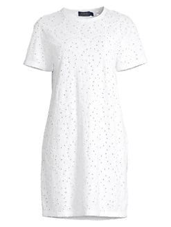 5f97629be13 Polo Ralph Lauren. Midi Shirtdress.  198.00 · Lace Eyelet T-Shirt Dress  WHITE. QUICK VIEW. Product image