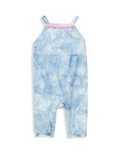 cd6b6baffbe7 Baby Girl s Lucia Cotton Romper BLUE. QUICK VIEW. Product image