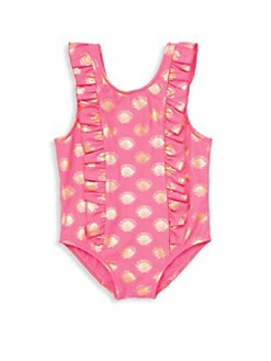 5c2b485d991 QUICK VIEW. Egg Baby. Little Girl's Diana Printed One-Piece Swimsuit