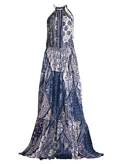 aea5927bc7c Product image. QUICK VIEW. Polo Ralph Lauren. Paisley Halterneck Maxi Dress