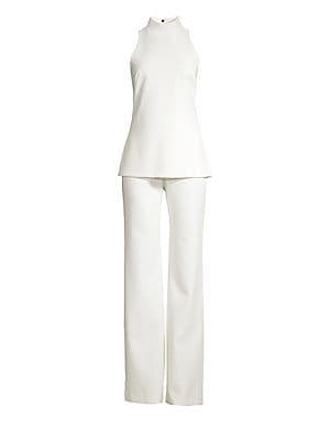 b291ab21eaf Ralph Lauren Collection - O Reilly Silk Blend Jumpsuit - saks.com