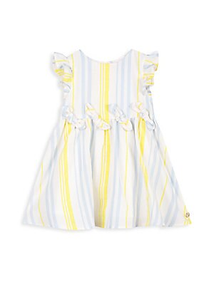 1901ae2843574 Lili Gaufrette - Baby's & Little Girl's Bow-Trim Striped Dress