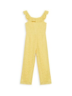 150089fd6ee4 Bardot Junior. Girl s The Blake Lace Jumpsuit