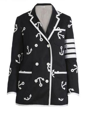 THOM BROWNE Anchor Sack Jacket