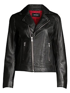 09dc1b27dbb64 The Kooples. Moto Leather Jacket