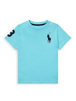 76b4fd53ed981 QUICK VIEW. Ralph Lauren. Boy s Jersey Crewneck T-Shirt