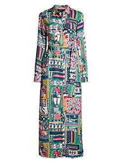 4a74f24fda62c7 Product image. QUICK VIEW. Lafayette 148 New York. Long Doha Printed Midi  Shirtdress