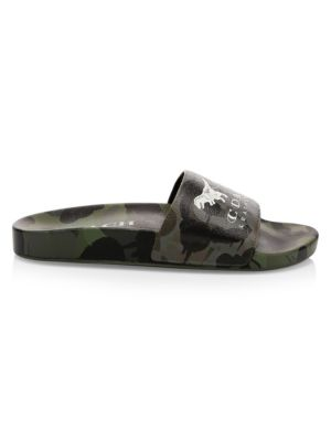 Coach Slippers Rexy and Carriage Wildbeast Pool Slides