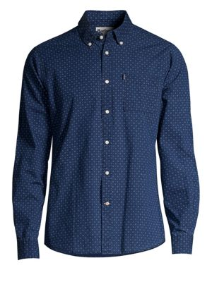 Barbour Shirt Shop Tailor Fit Printed Shirt