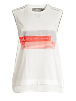 750f93e2d1a4ca QUICK VIEW. adidas by Stella McCartney. Organic Cotton Logo Tank Top