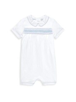 774c5426f18e Ralph Lauren. Baby Boy s Smocked-Cotton Shortall