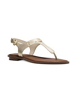 05cb4c9f9 QUICK VIEW. MICHAEL Michael Kors. Plate Slingback Thong Sandals