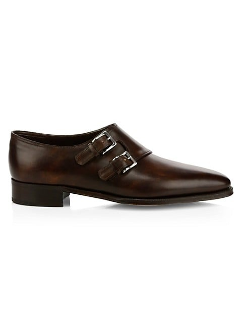 Chapel Monk Strap Leather Shoes