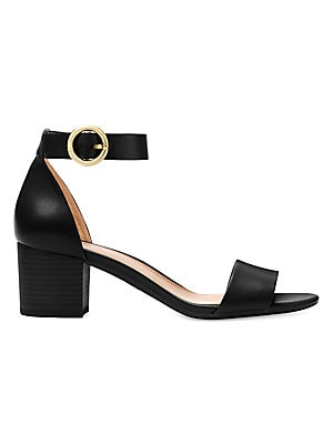 e1f48e6219f5 MICHAEL Michael Kors - Lena Flex Mid Leather Ankle Strap Sandals - saks.com