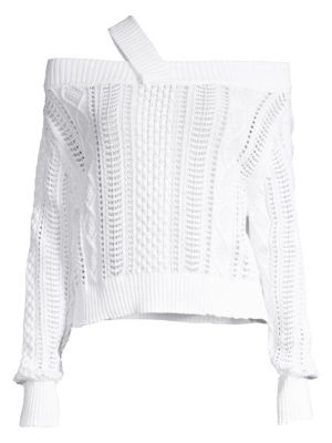 Beckett Off The Shoulder Sweater by Rt A