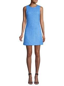 d001b6d99e32 Alice + Olivia. Coley Tweed Sleeveless Mini Dress