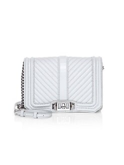 316c47bc9289 QUICK VIEW. Rebecca Minkoff. Small Quilted Chevron Leather Crossbody Bag