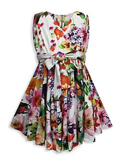 dd64f2211f746 QUICK VIEW. Helena and Harry. Little Girl s   Girl s Botanical Party Dress